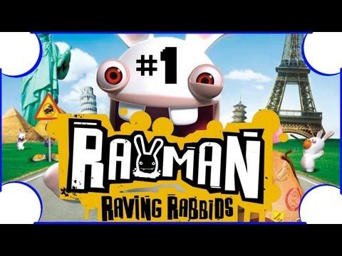 Zagrajmy w Rayman: Szalone Kórliki #1 Żryj cegłówkę