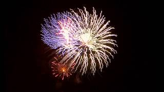 Fireworks In Slow Motion  with Music