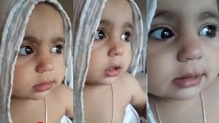 Cute baby latest funny WhatsApp viral video | baby shivering video |