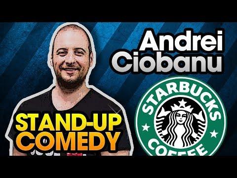 Andrei Ciobanu - Despre Starbucks stand-up comedy Club 99