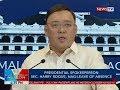 BP: Presidential spokesperson Sec. Harry Roque, nag-leave of absence