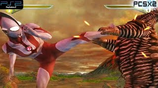 Ultraman Fighting Evolution 3 Ps2 Gameplay 1080p Pcsx2 Download