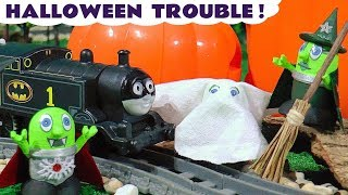 Halloween Costumes Witch Trouble with Thomas The Train the funny Funlings and Cars McQueen TT4U