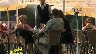 Im Restaurant - Kellner rastet aus
