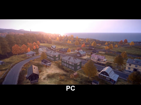 DAYZ LEAKED PS4 GAMEPLAY & PC Comparison - August 18th 2014