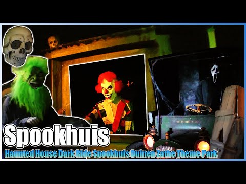 Haunted House Theme Park Duinen Zathe Appelscha Netherlands Spookhuis Spooky Mansion Dark Ride