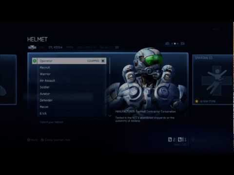Halo 4 | Unlocking the Wetwork & Operator Specializations