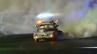 MATER 1950 INTERNATIONAL V8 TRUCK  AT BURNOUTS UNLEASHED 2014