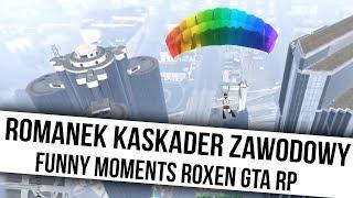 ROXEN GTA RP   ROMANEK KASKADER ZAWODOY   Funny Moments