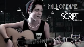 The Script - Hall of Fame ft. will.i.am - Cover by Jordan Jansen
