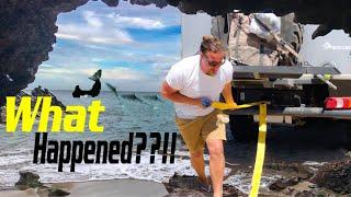 Amazing Boondocking at hidden beach ► | Baja Overland Adventure EP8