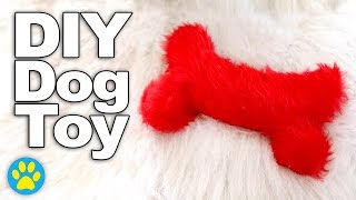 DIY Squeaky Bone Dog Toy