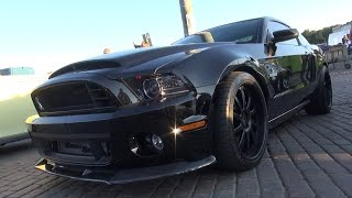 ALL BLACK 850-hp Shelby GT500 Super Snake