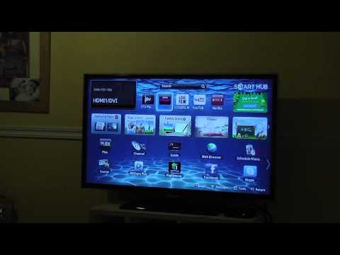 Samsung Smart Hub and SmartView Demo - UE32ES5500 Full HD 32