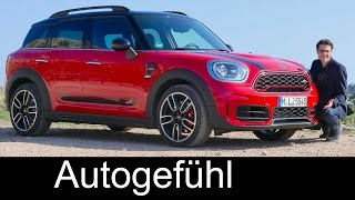 Mini Countryman John Cooper Works FULL REVIEW 231 hp JCW sports version new neu 2018/2017
