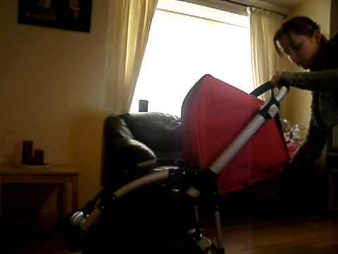My new bugaboo bee plus 2010 which i got on the 3rd odf april.