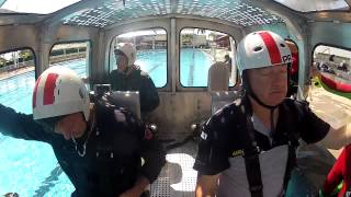 Helicopter Underwater Escape Training - HUET