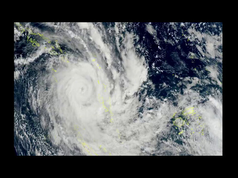 Tropical Cyclone Donna becomes the strongest May cyclone ever to hit southern hemisphere - May 2017