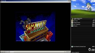 SimCity 2000 - 30k population Speedrun in 2:02.23