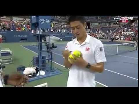 2014 U.S OPEN Kei NISHIKORI vs Miros RAONIC winner's speech