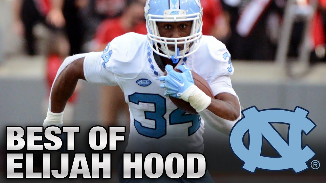 UNC Football: Elijah Hood's Best Plays In Career Game vs. NC State