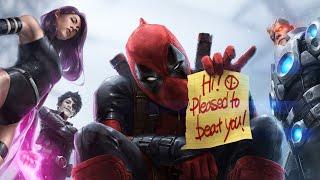 Deadpool Full Movie All Cutscenes
