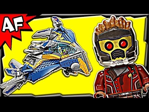 MILANO SPACESHIP Rescue 76021 Lego Guardians of the Galaxy Stop Motion Set Review