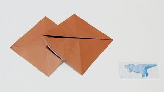 Origami Basics 14 : How to fold Double Fish Base 摺紙基本技巧 14 : 雙魚基本形