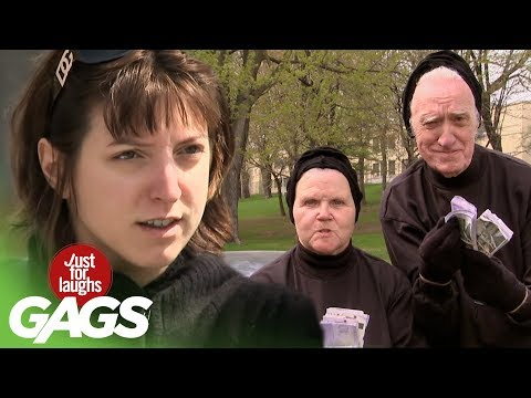 Best Of Just For Laughs Gags - Crazy Criminal Pranks