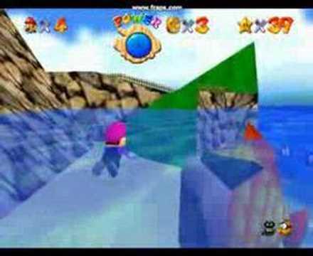 Super mario 64 fish food youtube for Mario go fish