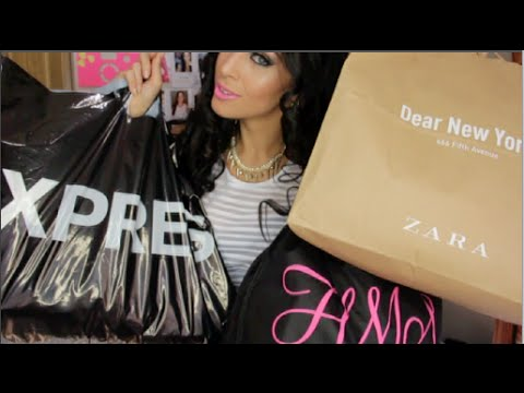 HUGE Summer to Fall Fashion Haul ♡ Zara. Express. HotMiamiStyles. H&M. JustFab + More