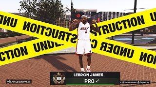 DEMIGOD LEBRON JAMES SHUTS DOWN the PLAYGROUND - NBA 2K19