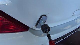 Кузовной ремонт. Как можно ускорить процесс рихтовки спотером.