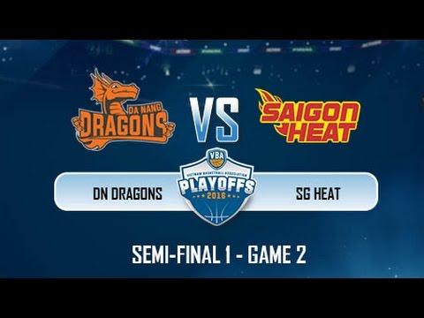 Trực tiếp: Bán Kết 1 - Game 2: Saigon Heat vs Danang Dragons (02.11)