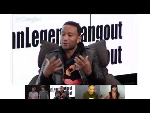 An Audience with John Legend #JohnLegendHangout #TheHangout