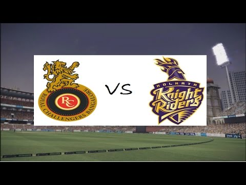 Don Bradman Cricket 14:  IPL  Royal Challengers Bangalore vs Kolkata Knight Riders Gameplay HD