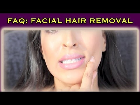 FAQ: How to Remove Facial Hair - The BEST method for AGING + ACNE prevention