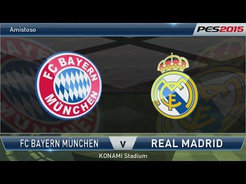 PES 2015 - Bayern de Munique x Real Madrid [PS4 - PT/BR]