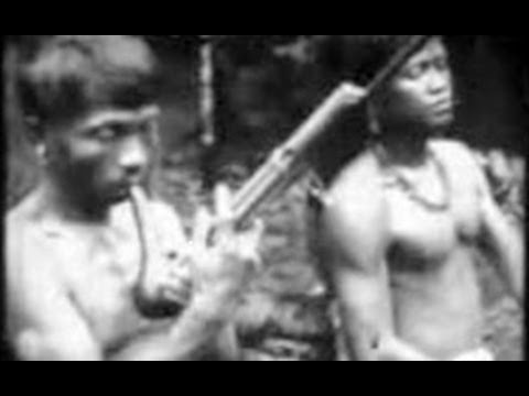 Borneo, Indonesia- A Dayak Tribe in 1912- Tempo Doeloe