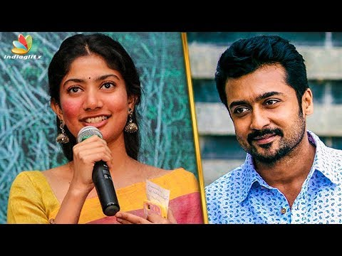 I was Stunned by Suriya : Sai Pallavi's First Day at NGK Shooting | Latest Tamil Cinema News