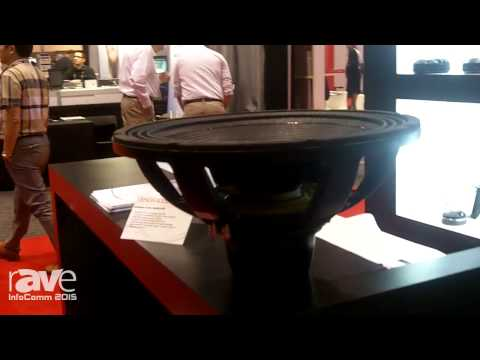 InfoComm 2015: Eighteen Sound Showcases 18NLW4000 Extended LF Neo Transducer