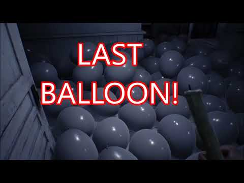 Resident Evil 7 - What happens if you take out all the Balloons then solve Lucas's riddle?