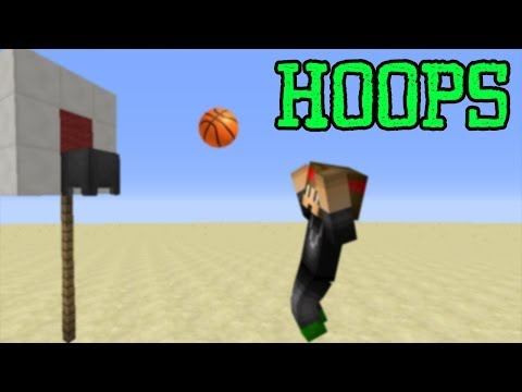 Minecraft Plugin - Hoops - A Basketball minigame!