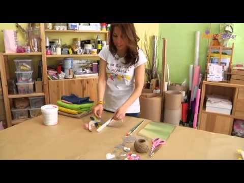 Πώς να φτιάξτε στο σπίτι πασχαλινές λαμπάδες