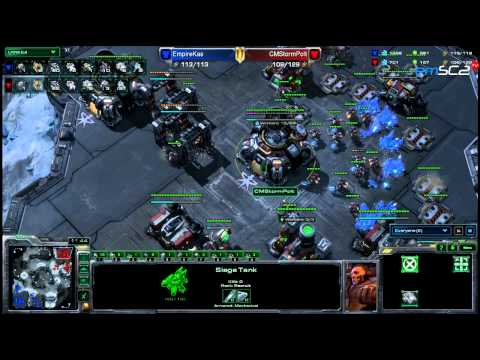 TvT-Kas vs Polt - Neoplanet - Starcraft 2 HD polski komentarz Heart of the Swarm