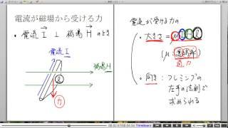 高校物理解説講義:「電流が磁場から受ける力」講義2