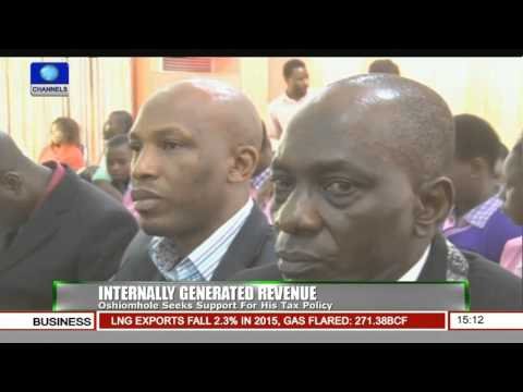 News Across Nigeria: Oshiomhole Seeks Support For His Tax Policy Pt.2