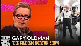 Gary Oldman Is Winston Churchill Dancing as James Brown - The Graham Norton Show