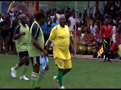 Obasanjo Scores Brace In 78th Birthday Celebration Match