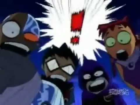 Teen Titans Funny Moments